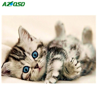 Baby Cat 3D DIY Diamond Painting Cross Stitch Diamond Embroidery Europe Home Decoration Full Square Drill