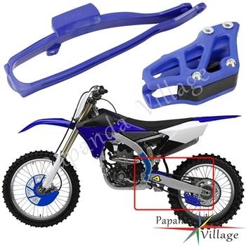Swingarm Protector Chain Slider + Chain Guide Guard For YAMAHA YZ125 YZ250 YZ250FX YZ450FX YZ250F YZ450F WR250F WR450F 2007-2019 4 directions cnc foldable pivot brake lever for yamaha yz125 yz250 yz250f yz450f yz426f yz250fx motocross supermoto dirt bike