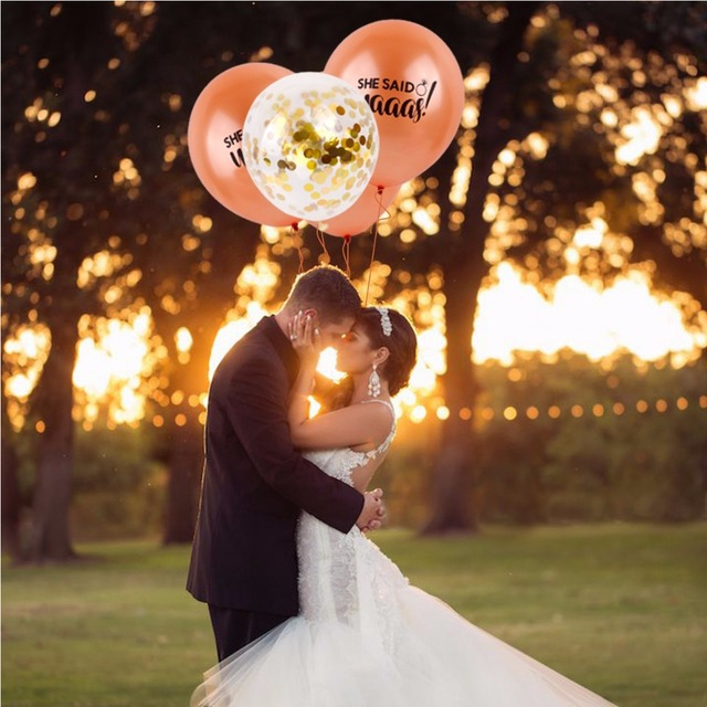 Aliexpress Buy Fengrise Team Bride Alphabet Letter Balloons