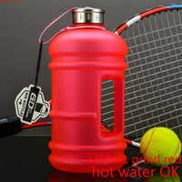 Hot sale World Health Large Capacity Men's Sports Water Bottle Portable Outdoor Plastic Space 2.2 L/1.3L Super Bucket kettle