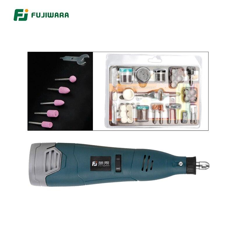 FUJIWARA 12V Lithium Electric Grinder 5-speed Adjustable Electric Drill Electric Grinder Set Engraving Machine Polisher abrasives electric grinder s1jff0210 s1jff0310h