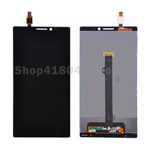 For Lenovo K920 Vibe Z2 Pro LCD Display and Touch Screen Digitizer Assembly Black Free Shipping