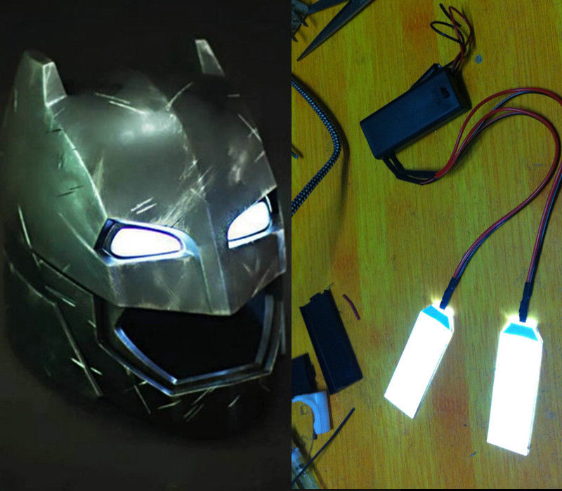 Novelty & Special Use 1:1 Led Light Eyes For Ironman/ Batman/killmonger Helm Helmet Diy Eyes Yellow Halloween Party Props Halloween Fan Drop Ship Costumes & Accessories
