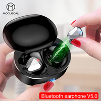 MOOJECAL Bluetooth earphone 3D stereo wireless headphones Sports Earbuds Gaming Headset For Iphone Xiaomi Huawei PK tws i12 i30