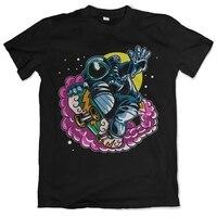 Astro скейтборд Летняя мужская футболка s качественные футболки мужские с принтом короткий рукав o-образный вырез Футболка