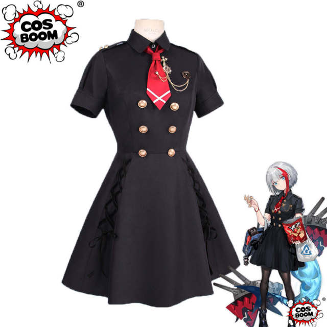 Cosboom Anime Cosplay Azur Lane Admiral Graf Spee Costume Girls Game