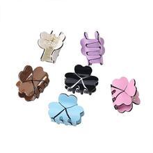 Elegant Acrylic Mini Hairpins Simple Colorful Clamp Hair Claw Clips Barrettes for Ladies Hair Accessories Women цена в Москве и Питере