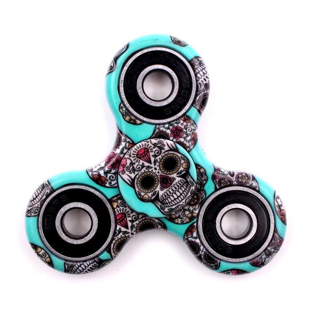 Горячие новые стили Спиннеры высокое качество EDC ручной Спиннер для аутизма и СДВГ анти стресс, колесо для снятия напряжения забавная игрушка, Спиннер
