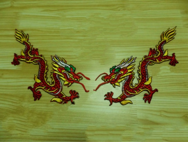 Grande taille paires lot chinois nation dragon