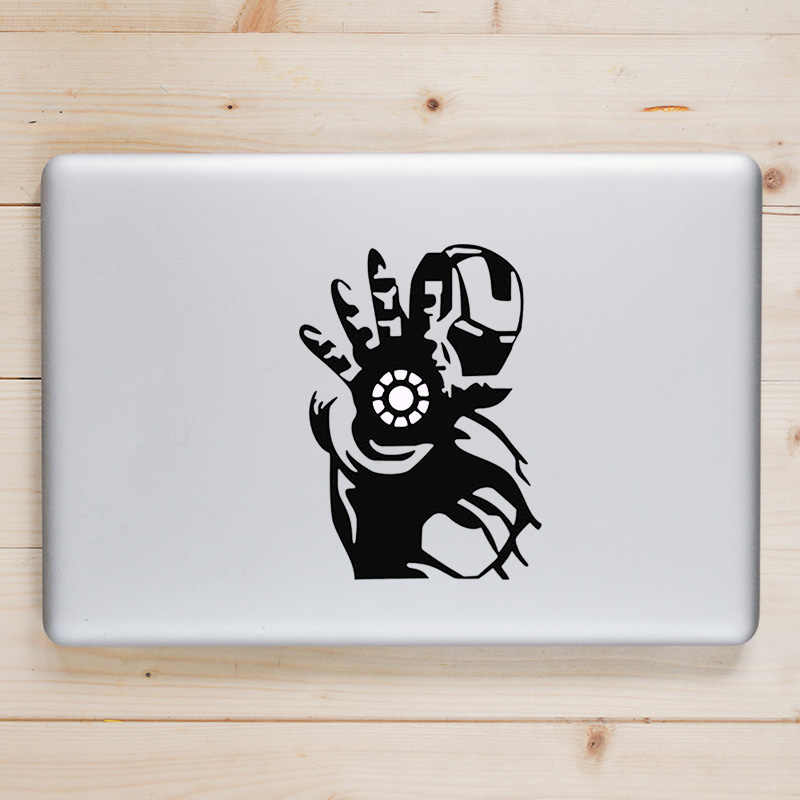 66c4d3c3ac96 Iron Man Superhero Laptop Decal for Apple Macbook Sticker Pro Air Retina 11  12 13 15 inch for Xiaomi Mac Surface Book Vinyl Skin