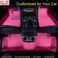 Автомобильные коврики по индивидуальному заказу для hyundai Sonata 5/6/7/8/9 EF NF i40 3D напольные ковры на заказ коврики для ног