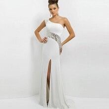 2016 Sequins Maxi Elbise Moda Seksi Hanım Elbise Yaz Casual Elbise Hanım Vestido Beyaz hanım elbise parti Parasız Kargo