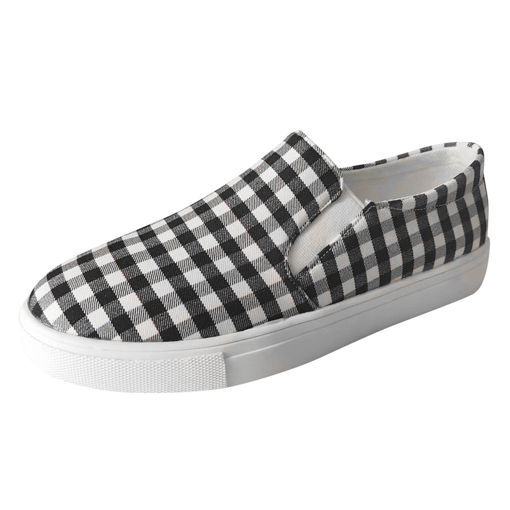 Footwear Casual-Shoes Canvas Comfortable Fashion Women's Ladies Flat Solid Soft Low-Skate