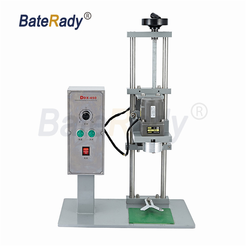 DDX 450 electric desktop capping machine,Water bottle,round capping machine,bottle lid locking machine,220V optional