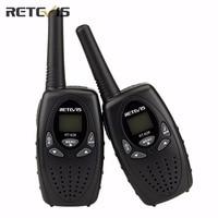 1Pair New Black Handy Mini Radio Walkie Talkie Retevis RT628 0 5W UHF Europe Frequency 446MHz
