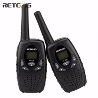 1Pair New Black Handy Mini Radio Walkie Talkie Retevis RT628 0 5W UHF Europe Frequency 446MHz