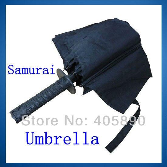 Invincible Samurai Folding Umbrella Strong Windproof Short Style Umbrella