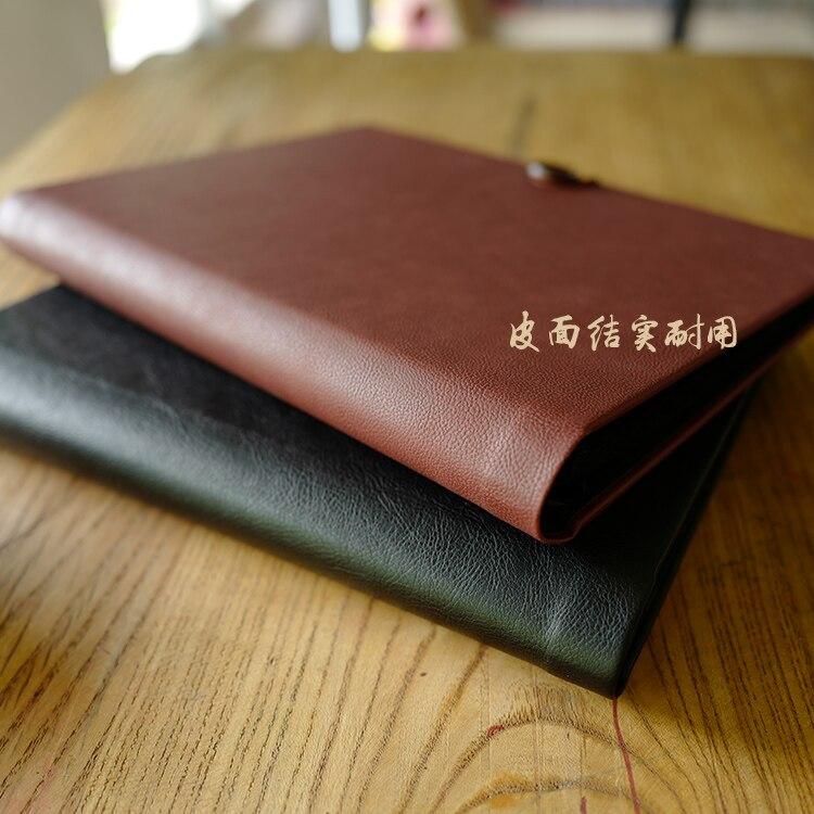 Handmade Blank Scrapbook Album Loose Leaf Notebook DIY