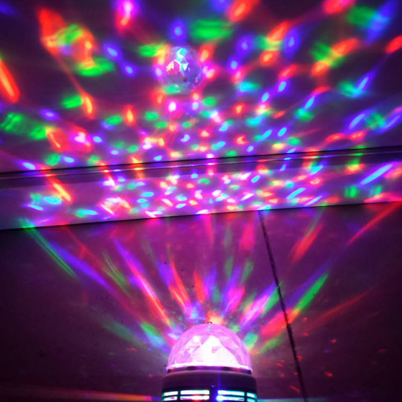 Litwod Z20 LED Little Magic Ball Stage Light Colorful Rotating Light Bar Crystal Magic Ball 3W Laser Light