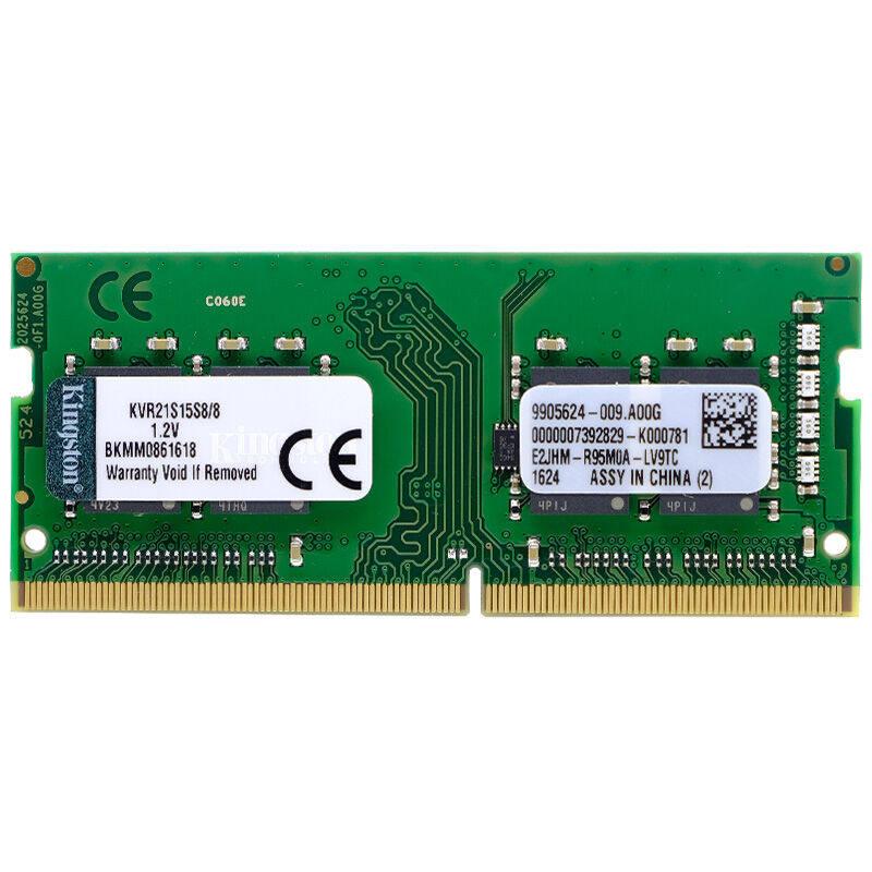 Kingston 8 GB PC4-2133 DDR4 2133 2X8G CL15 1.2 V 260 broches Ordinateur Portable SODIMM RAM KVR21S15S8/8