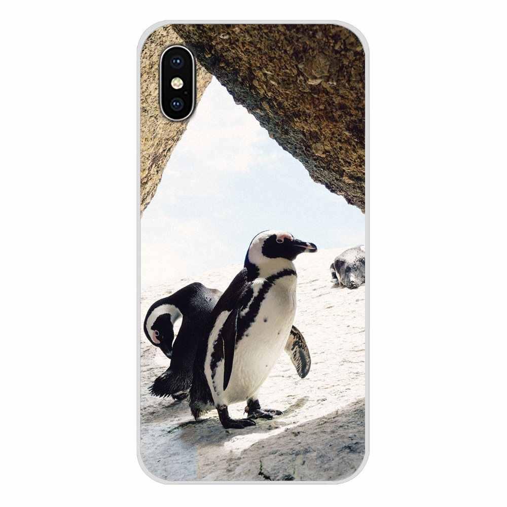 Для Xiaomi Mi6 A1 5X 6X Redmi Note 5 5A 4X 4A 4 3 Plus Pro pocophone F1 аксессуары чехлы для телефонов с изображением пингвина