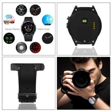 Kw88 Watch Smart Wearable Devices Heart Rate Tracker Smart Watch for Android IOS GPS Watch Mens Reloj Inteligente Gifts
