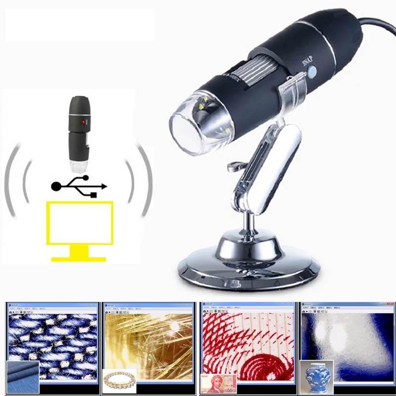 Hot-sell-Mega-Pixels-1600X-8-LED-Digital-USB-Microscope-motherboard-repair-Magnifier-Electronic-Stereo-USB