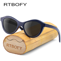 e1d778eacc RTBOFY Polarized Wood Sunglasses For Children Bamboo Frame Eyewear  Polarized Lens Girls Glasses Vintage Design Shades
