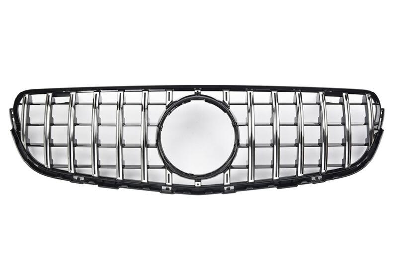 Pour Mercedes pour Benz glc-class X253 GLC200 GLC250 GLC300 GLC450 GLC63 2015-on avec emblème pour la calandre de Style AMG