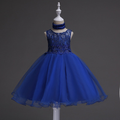 2017 Halloween Party Girl tutu Dress Kids Dresses Sequins Princess Toddler Girls Dresses Summer for Girls Clothes Wedding