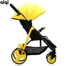 2017 Poussette Baby font b Stroller b font Aiqi Summer Special Portable Foldable Aluminum Alloy Carriage