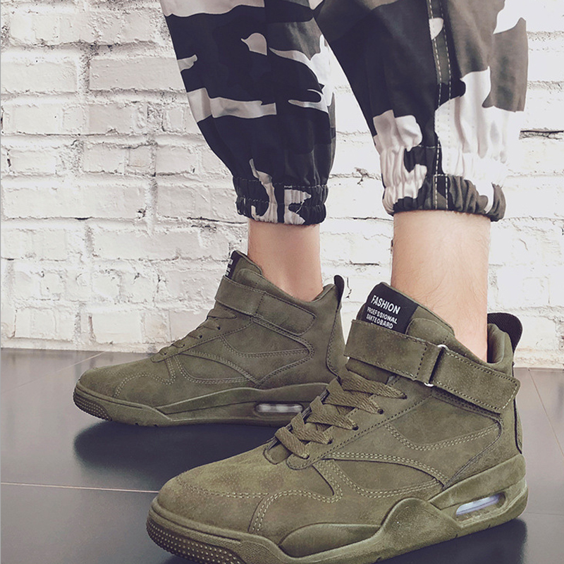 New Fashion 2018 Spring/autumn High Quality Man Casual Shoe man Sneaker Trainers Rubber shoe sole hard waring keep warm 3 color