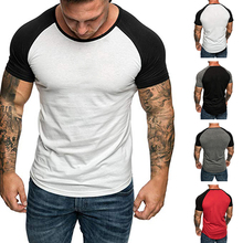 Litthing 2019 New Summer Brand Men's Short Sleeve O-neck T-shirts Casual Baseball Tshirt Men Tee&Tops Streetwear Plus Size