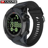 PANARS Smart Watch Men Waterproof Android IOS Pedometer Sports Watches Smart Mens Digital Watches Men Military Adult Man Fashion