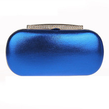 Fashion Simple Wild Evening Bag Women Shoulder Bags Rinestone Hasp Ladies font b Clutch b font