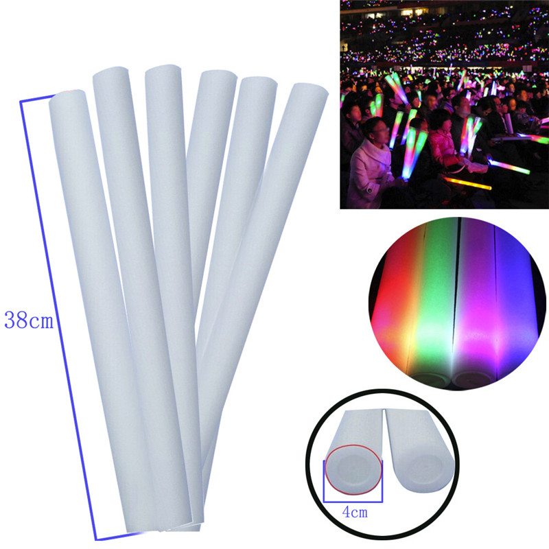 1PCS Light Up Foam Sticks Glow Party LED Flashings Vocal Concert Reuseable Hot interest toy/Adult Toy Cherryb
