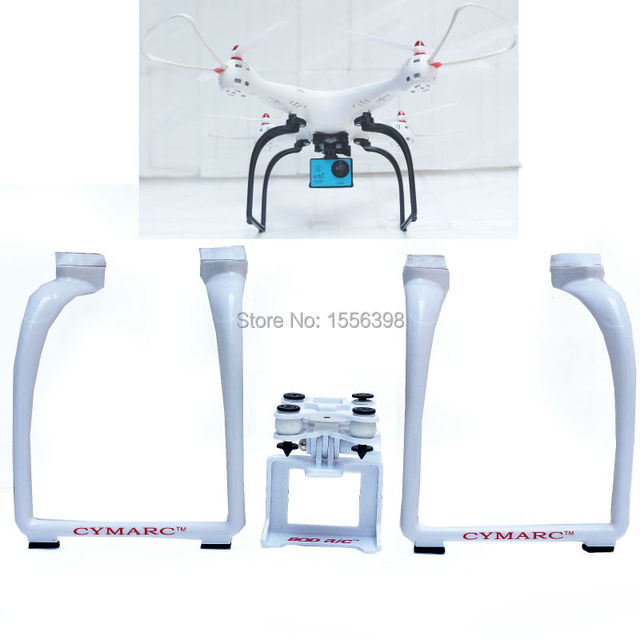 Brand  legs Drone Spare Parts Landing Gear Upgrade Ve For SYMA X8SW X8SC Remote Control Upgrades Landing Gear +bracket