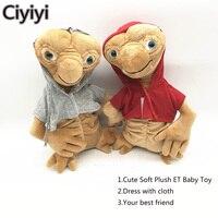 20 cm Cartoon Alien Baby Miękkie Pluszowe Figurka Toy Anime Wielkie Oko E.T. dziecko Juguetes Alien Jouets Prezent Urodzinowy Dla Dzieci