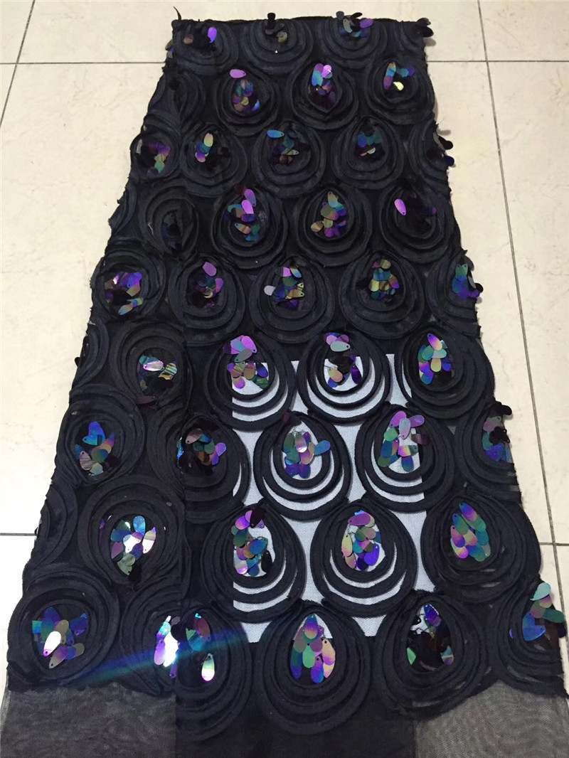 Home & Garden Smart Purple African Lace Fabric 2019 High Quality Milk Silk French Tulle Lace Embroidered Stones Nigerian Lace Fabrics For Wedding Fragrant Aroma