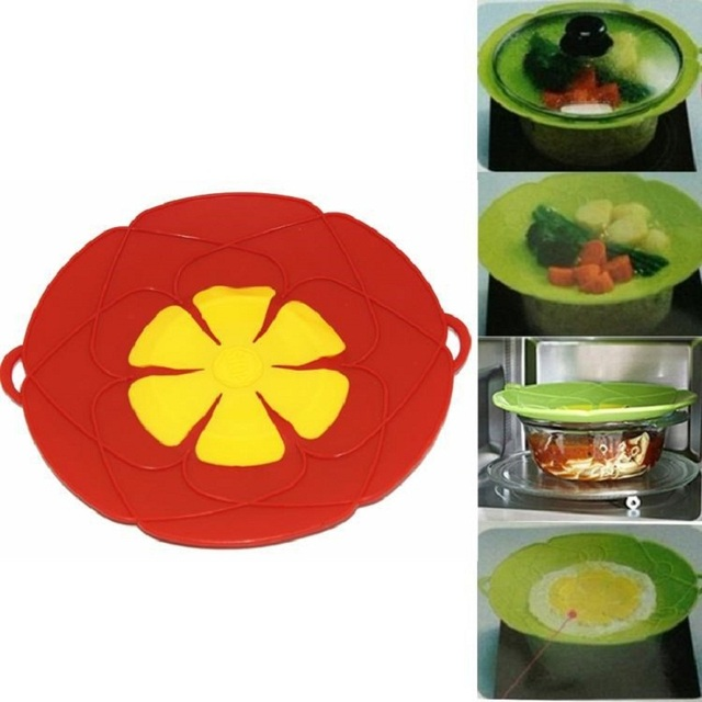Pan lid Spill Stopper Cover For Pot