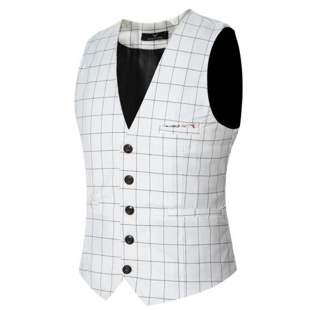 ZEESHANT Formal Preto Dos Homens Vestido de Terno Colete Plus Size 2017 moda Homens Slim Fit Terno Do Casamento Colete e Colete Gilet traje