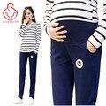 Новые беременных женщин брюки брюки беременных женщин тонкий срез высокой талии брюки живот беременных леггинсы летнее платье материнства