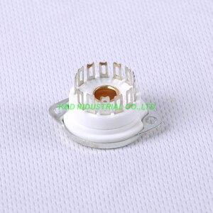 Image 5 - 4 pcs 13pin douille de Tube en céramique pour Nixie Valve pour 13pin B5092 GN4 B13B ZM1020 pièces damplificateur de Tube