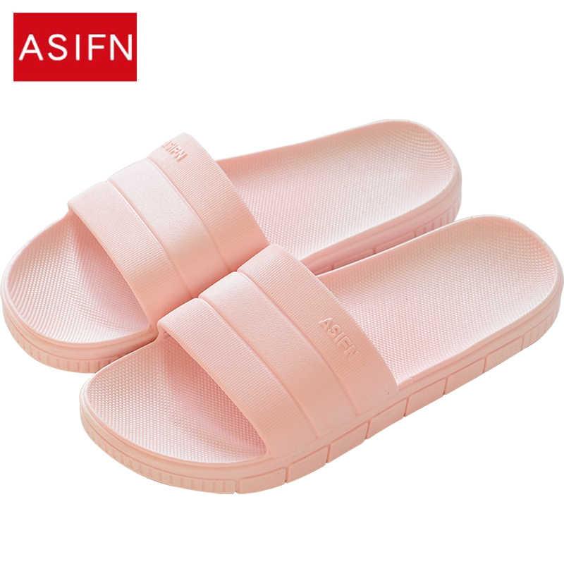 INFLATION Unisex Bathroom Couples Slippers Non-Slip Soft Bottom Summer Beach Women /& Men Sandals