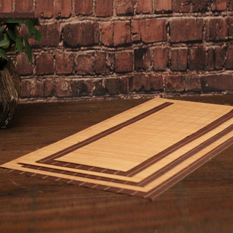 Bamboo Tea Mat 3