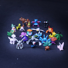 144 Different Styles 2.5-3cm 24pcs/bag Hot Toys Anime pkm Figures Action Toys Cartoon Figure Toys Birthday Gifts for Kids