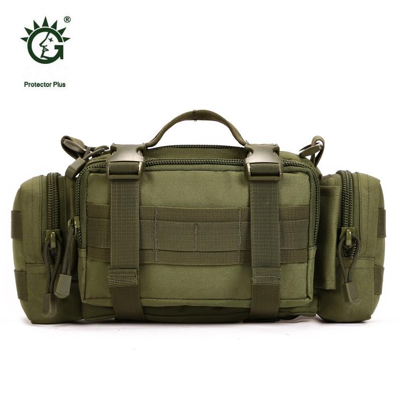 Protector Plus Bolso Táctico de Molle Militar Bolsa Para Los Deportes Al Aire Li