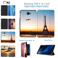 MTT New Case For Samsung Galaxy Tab A 10 1 2016 T580 T585 PU Stand Case
