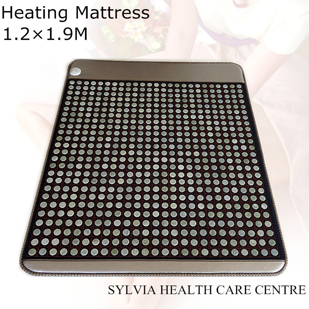 Beauty health care new products! Heating Tourmaline Jade Products Korea Thermal Jade Mattress free sleep eye cover 1.2X1.9M win beauty products australia