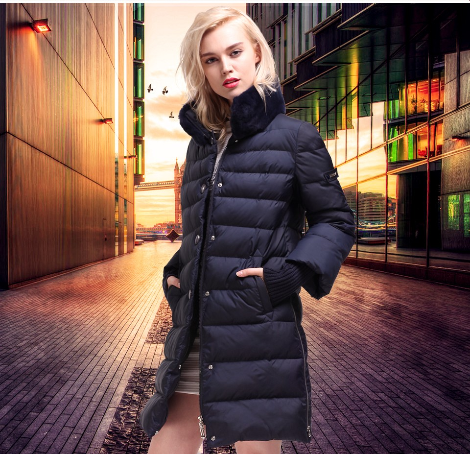MIEGOFCE Brand New 2017 High Quality Warm Winter Jacket And Coat For Women And Young Girl's Female Warm Parka
